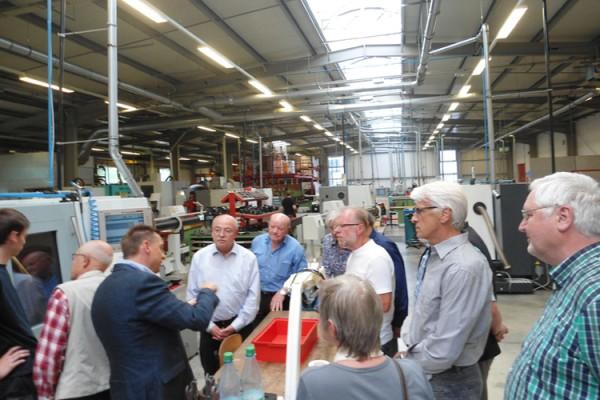 Pensionierte Realschullehrer besuchten die BOHLENDER GmbH