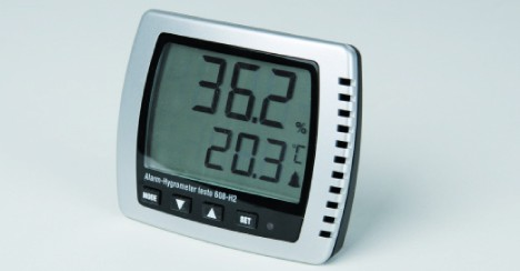 SICCO Electronic Hygrometer