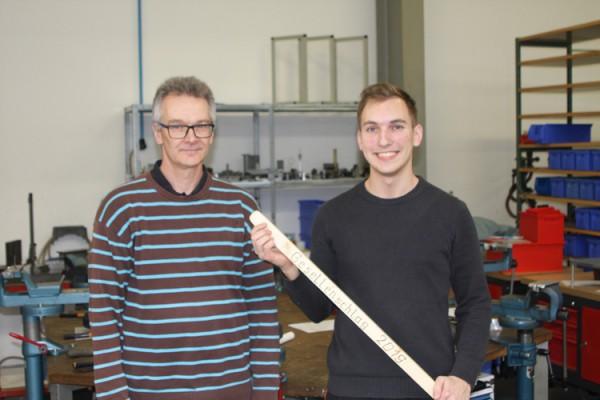 Ausbildung zum Industriemechaniker erfolgreich abgeschlossen