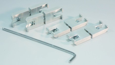 SICCO Connectors for Star Desiccators, Aluminium