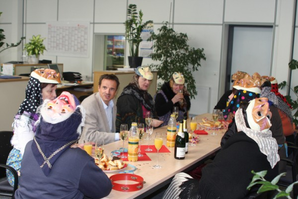 Hexeninvasion bei der Bohlender GmbH