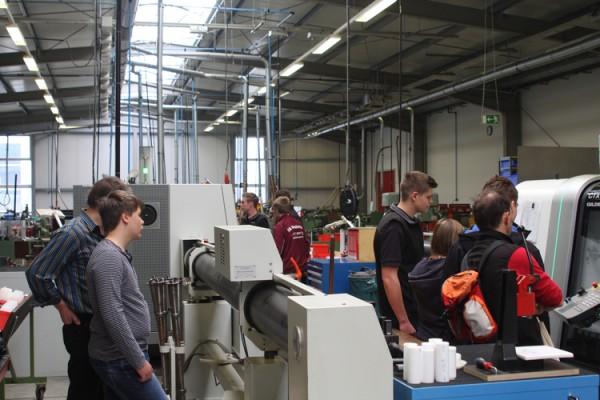 Informationstag für den Ausbildungsberuf des Industriemechanikers