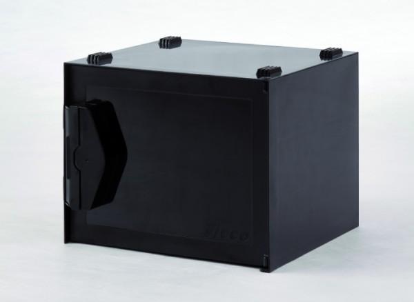 SICCO Mini Black Premium Exsikkator, Polycarbonat