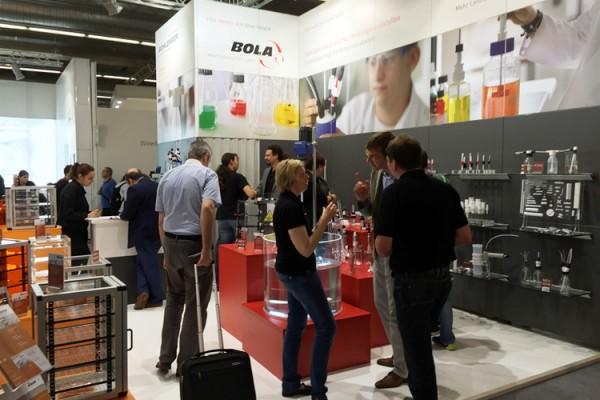 ACHEMA 2015 in Frankfurt – Messestand stieß auf reges Interesse