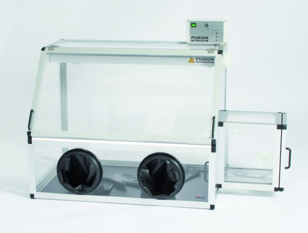 SICCO Glove Box Pure with Transfer Chamber, PMMA