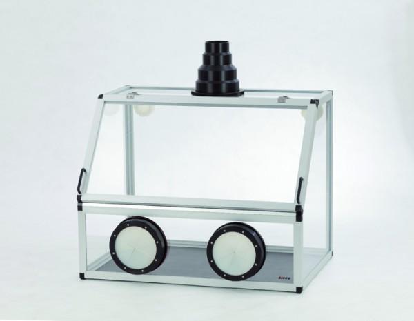 SICCO Handschuhbox für Absaugung, PMMA
