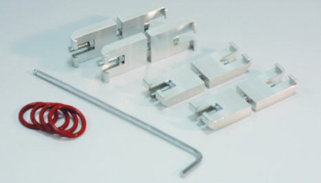 SICCO Connectors for Big-Star/Maxi-Desiccators, Aluminium
