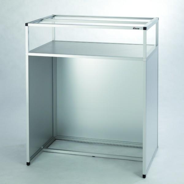 SICCO Untergestell für Handschuhbox (Steharbeitsplatz), Aluminium