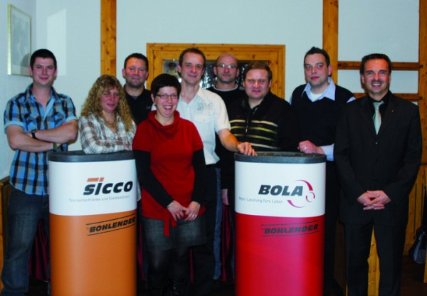 Positive Jahresbilanz und Mitarbeiterehrungen bei der Jahresabschlussfeier 2011