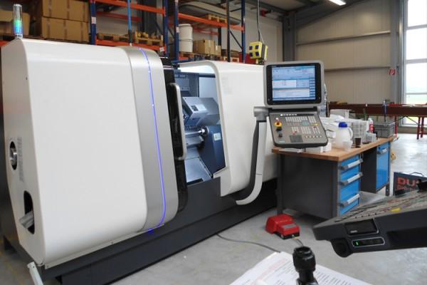 Neue CNC-Maschinen in Betrieb genommen