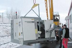 Moderne Drehmaschine erweitert unseren Maschinenpark
