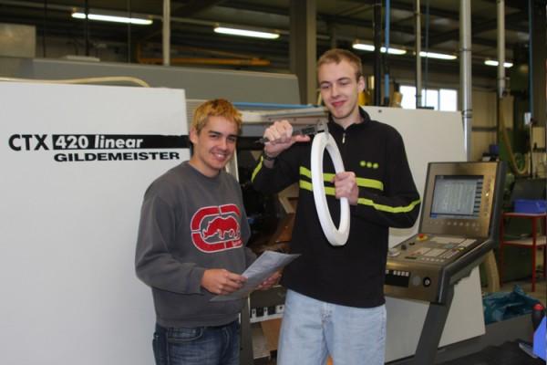 Zwei neue Auszubildende sind bei Bohlender ins Berufsleben gestartet
